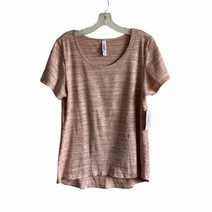 LulaRoe Cotton Blend Short Sleeve Tee NWT XL